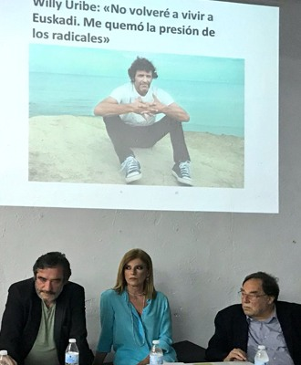 Francesc de Carreras, Esther Palomera, Patxi Lopez, Willy Uribe